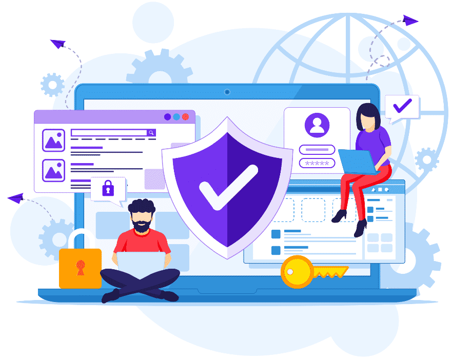 Website Security Solutions - Blank Page