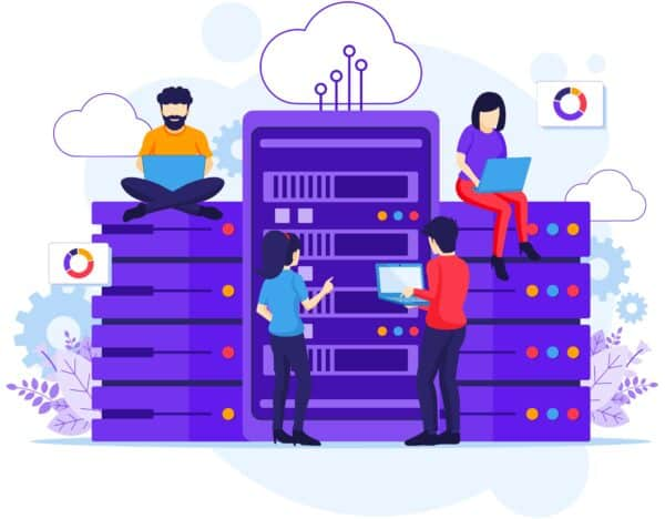 Dedicated Resource - Blank Page Cloud